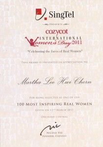 CozyCot 100 Women1 210x300 CozyCot: Top 100 Inspiring Women