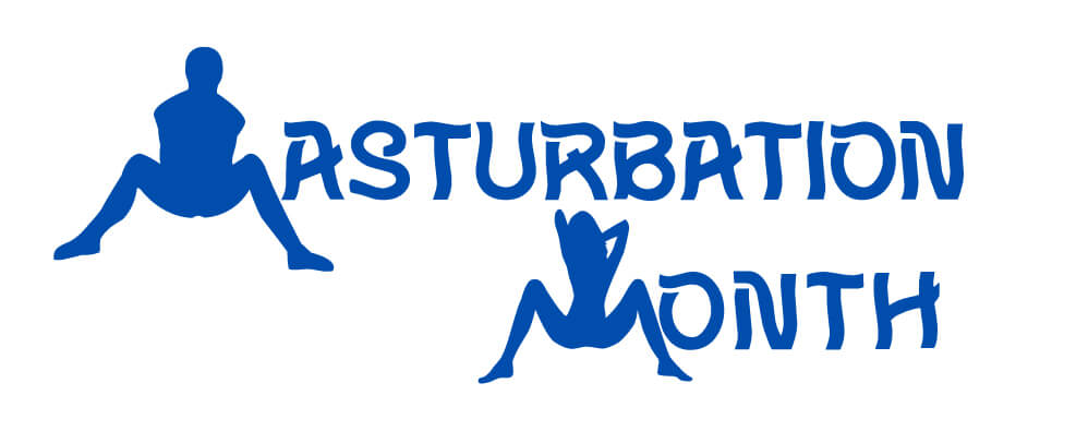 Masturbation Month Logo
