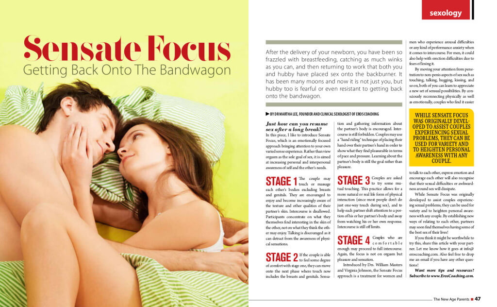 Sensate Focus Aug Sep 2013
