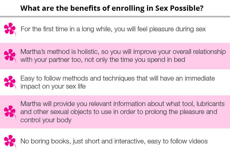 Sex Possible Benefits