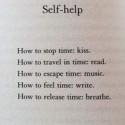 Self-Help Reminder