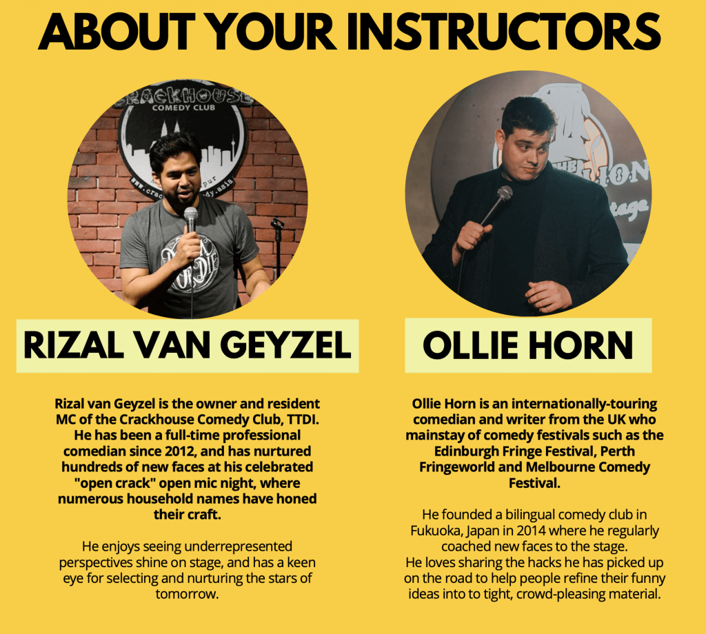 About Your Instructors