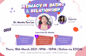 Lunch Actually Webinar Intimacy in Dating & Relationship