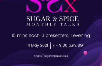 Recordings of May Sugar & Spice Monthly Talk (S&Sx). Theme: Pleasure
