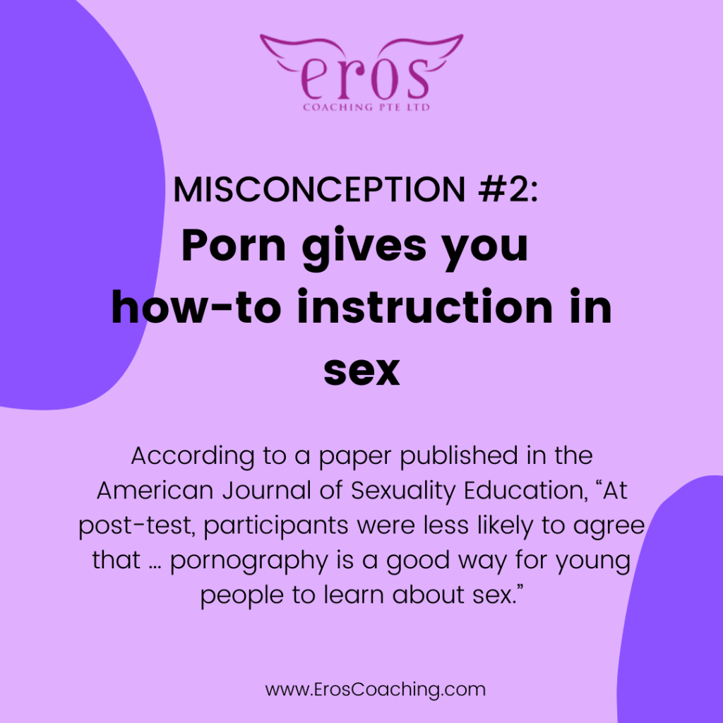 5 Myths and Misconceptions About Porn and Sex