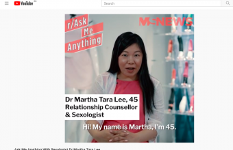 Ask Me Anything With Sexologist Dr Martha Tara Lee